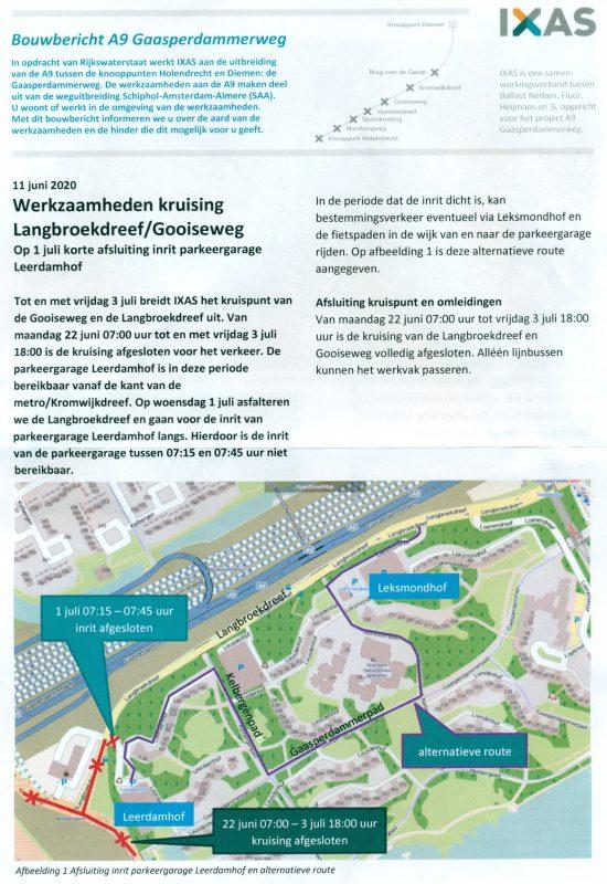 IXAS bouwbericht 2020-06-11